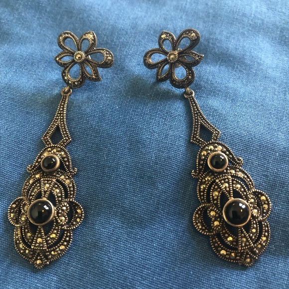 Vintage Jewelry - Vintage Art Deco earrings